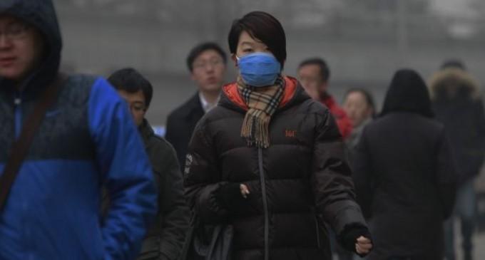 China, en alerta naranja por contaminación