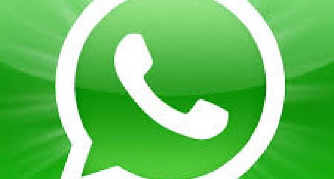 Whatsapp sufre caída de su servicio