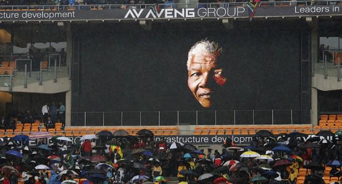 El mundo despide a Nelson Mandela en un multitudinario y emotivo funeral