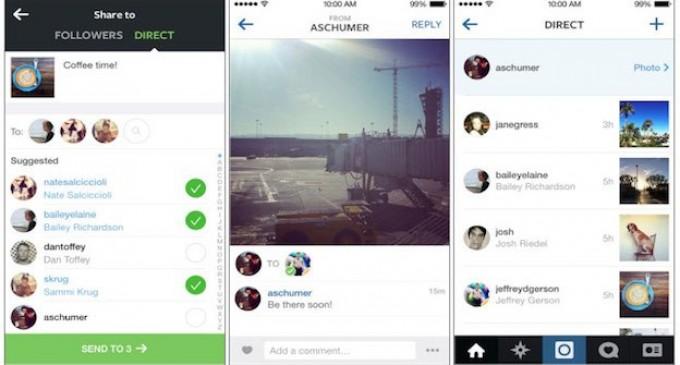 ¿No quieres compartir tanto? Instagram habilita mensajes directos
