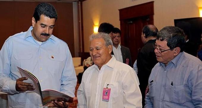 El gabinete de Maduro medió en una operación de narcotráfico del FMLN
