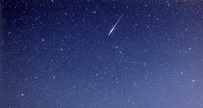 La noche del domingo habrá una espectacular lluvia de estrellas