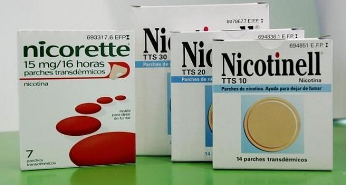 Los parches y chicles de nicotina no tienen efectos adversos cardiacos