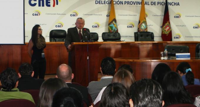 CNE realizó Taller de Promoción Electoral 2014