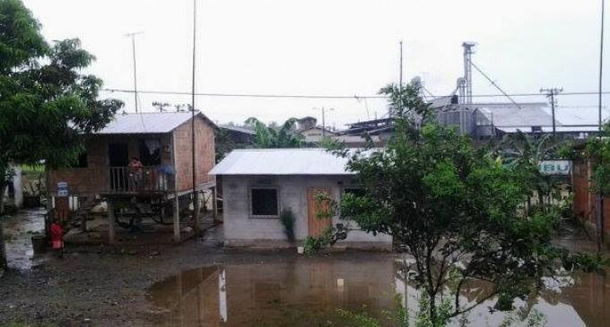 Los Ríos declarada en  emergencia por las lluvias