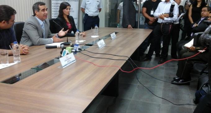 Mesa de seguridad se desarrolló en UVC de Babahoyo
