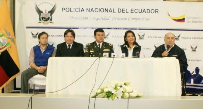 """Policía Nacional apoya campaña """"Tienen Derecho al Voto"""""""