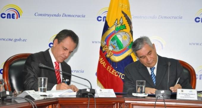 CNE y SUPERCOM supervisarán publicidad electoral