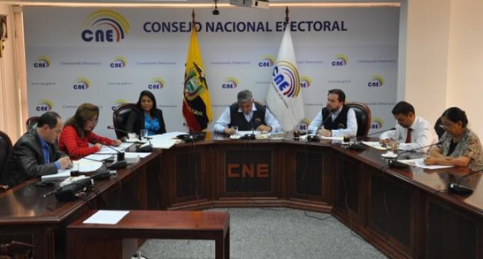 CNE: Todas las organizaciones políticas accederán a Fondo de Promoción Electoral