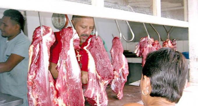 La libra de carne subió 25 centavos para este 2014