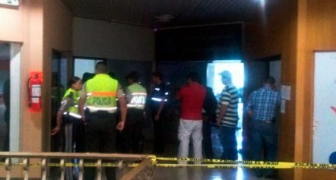 Persona muere baleada en centro comercial de Guayaquil