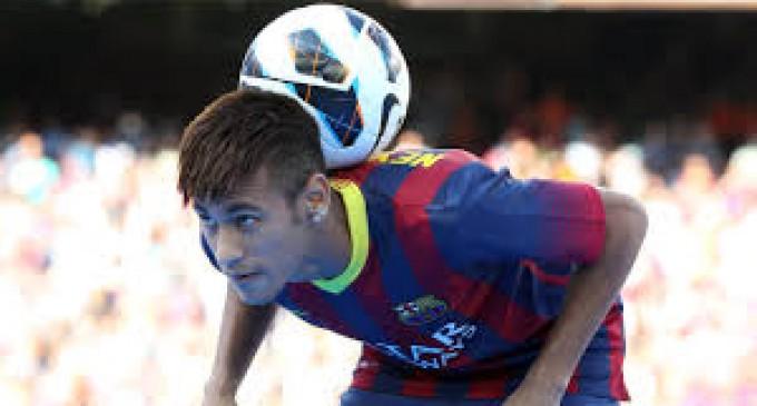 Neymar entrena con normalidad