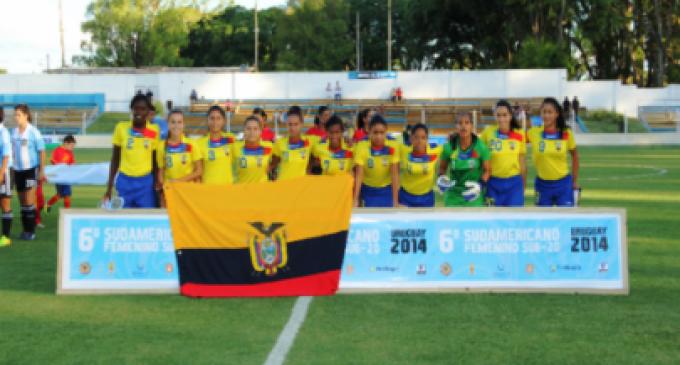 Ecuador inicia con victoria su participación en el Sudamericano Sub 20