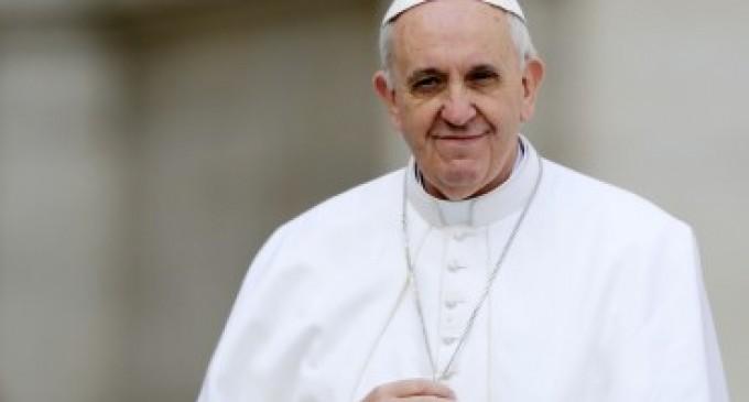 Papa Francisco hace un llamado a la Paz