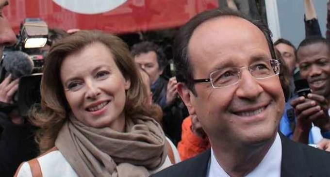 Hollande hace oficial su separación definitiva de Valérie Trierweiler