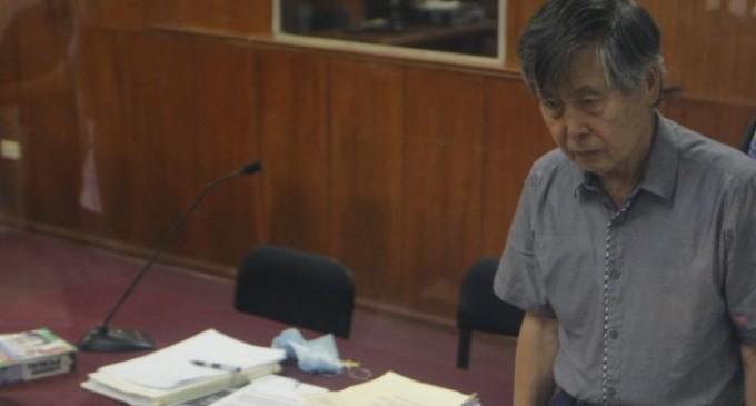 Hospitalizan a Alberto Fujimori tras leve infarto cerebral