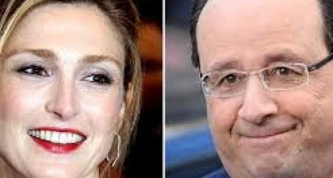 "Hollande se enfrenta a la prensa por fotos de su ""amor secreto"""