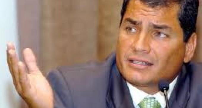 Correa anuncia juicio penal contra Jiménez y Villavicencio