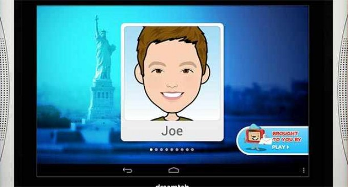Fuhu e Intel traen al mercado la primera tableta Android solo para niños