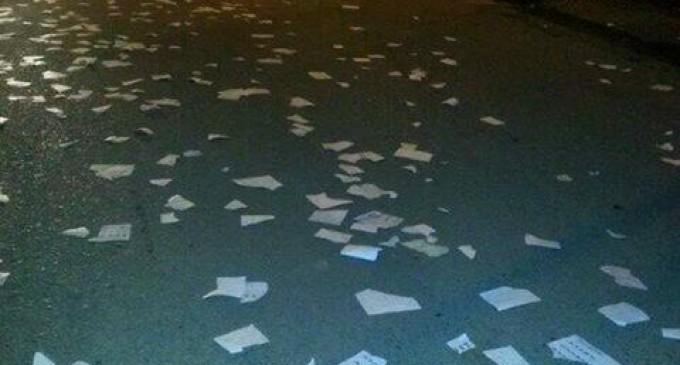 Enfrentamientos y quema de papeletas en Vinces