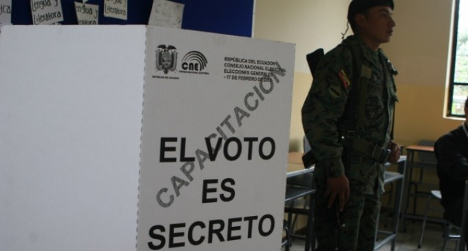 Más de 52.000 militares y policías vigilarán Elecciones