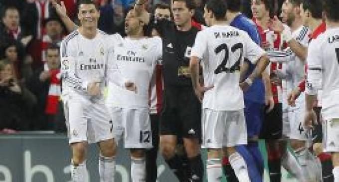 Cristiano Ronaldo ha sido sancionado con tres partidos