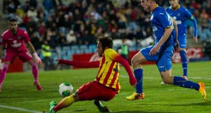 Neymar volvió a entrenar con Barcelona tras superar lesión