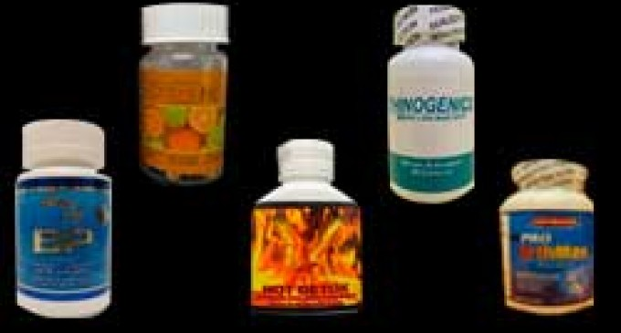 Sistema de Farmacovigilancia emite alerta para 12 productos que contienen sibutramina o sildenafil