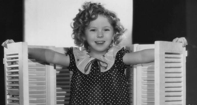 Murió Shirley Temple, la niña dorada de Hollywood