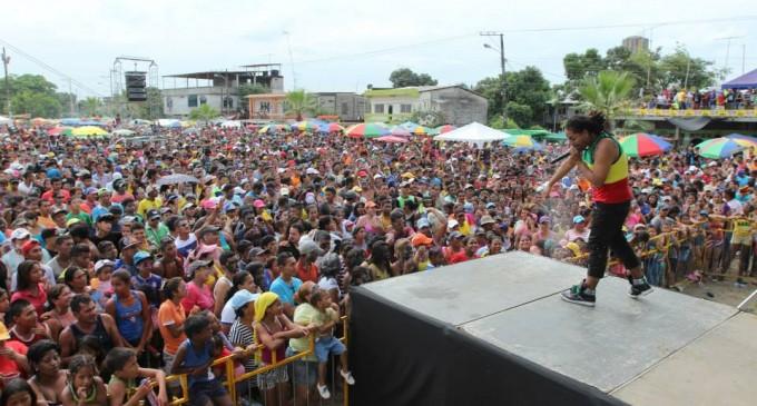 Babahoyo disfrutó del Carnaval 2014