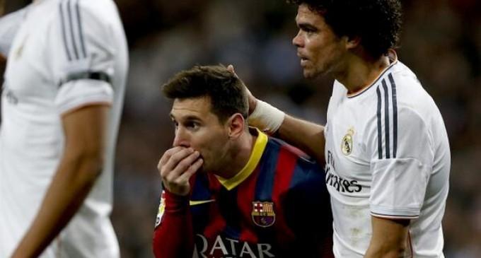 El pase de Messi
