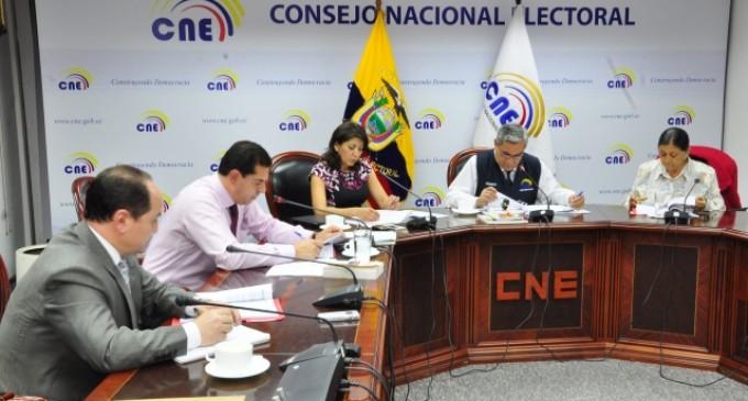 CNE resuelve impugnaciones de Los Ríos