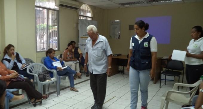 MIES socializa normas técnicas de gerontología en Babahoyo