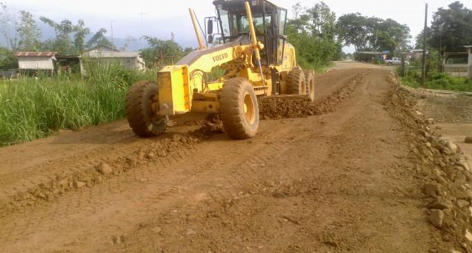 8 carreteras están en construcción en la provincia de Los Ríos