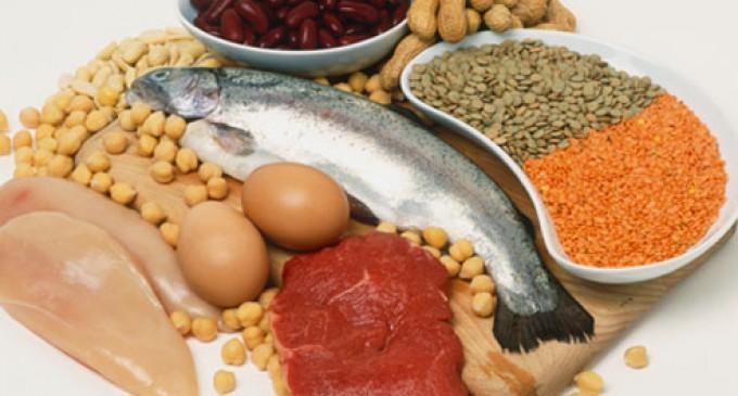 Las proteínas pueden ser buenas o malas según la edad
