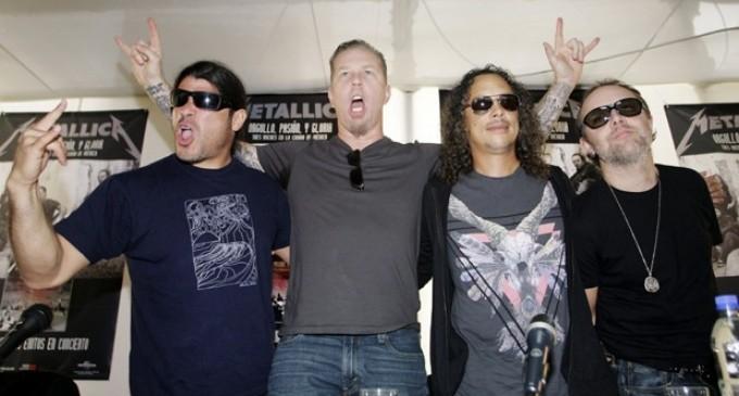 Metallica  toca hoy en Quito