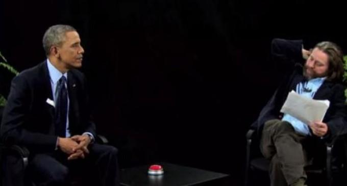 """Actor de """"¿Qué pasó ayer?"""" desafió a Obama en una entrevista"""