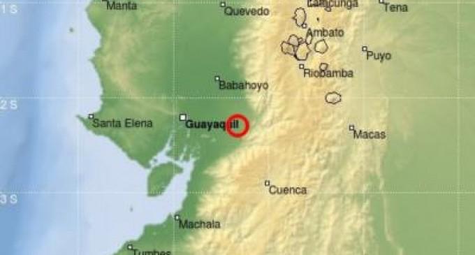 Sismo de magnitud 5.5 en Guayas: IG reporta varias réplicas