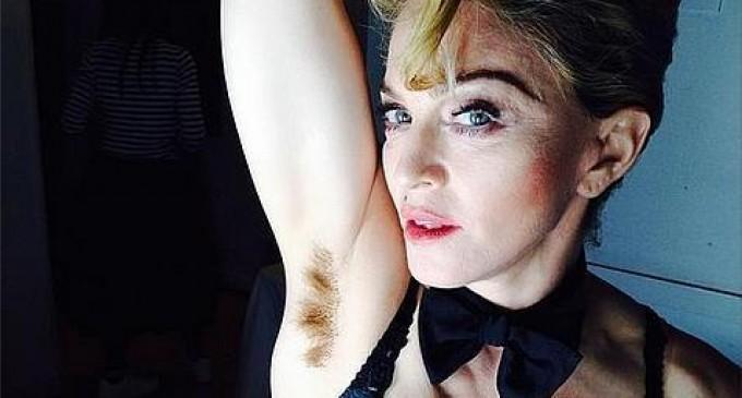 Madonna presume de axilas sin depilar en favor de la libertad