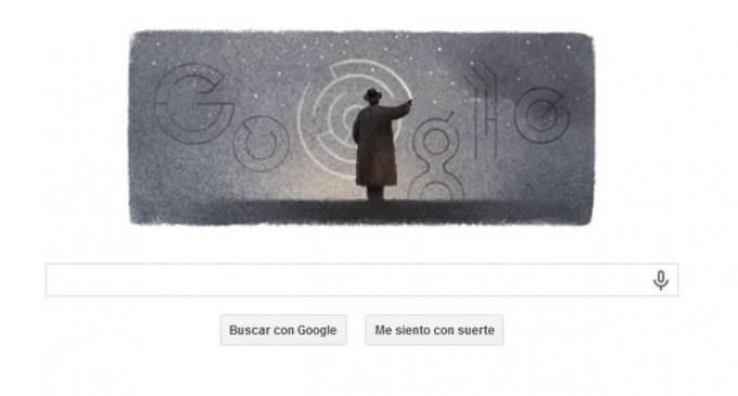 Octavio Paz 'dibuja' el 'doodle' de Google a 100 años de su nacimiento