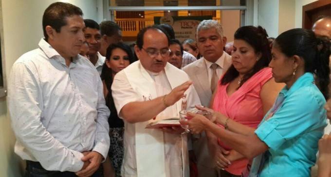 Se inauguró casa parroquial en San Juan