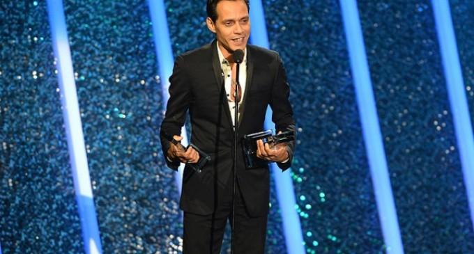 Marc Anthony, gran ganador de la noche en los Premios Billboard de la Música Latina 2014