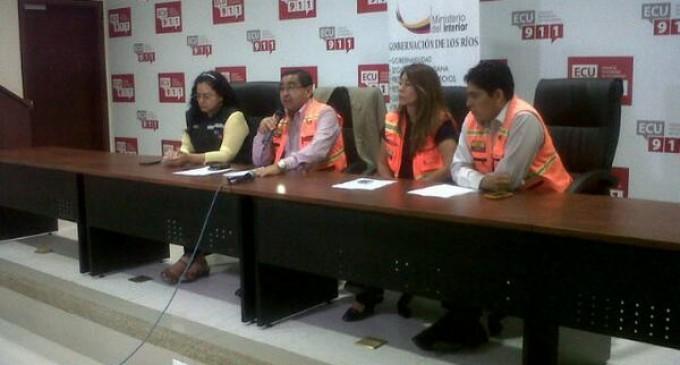 Alerta amarilla en Vinces y escuela afectada en el 50% en Valencia
