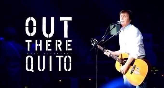 Sir Paul McCartney ya en Casa Blanca