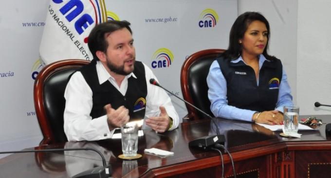 CNE notificará número de formularios rechazados a proponentes de Consulta Popular