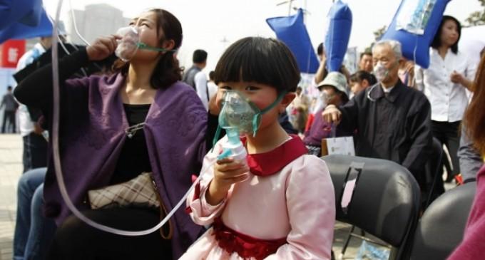 China: aire puro de la montaña para combatir la contaminación del aire