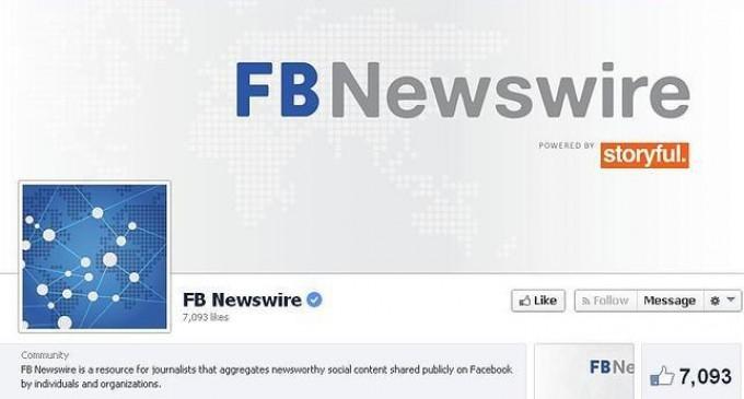 Facebook lanza FB Newswire, su propia agencia de noticias