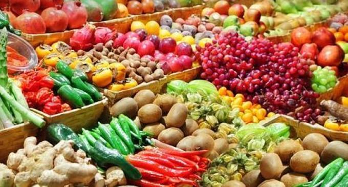 Para vivir más lo mejor es comer 7 piezas de verduras y frutas al día