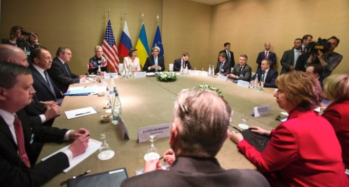 EEUU y Rusia negocian un documento para terminar con la crisis ucraniana