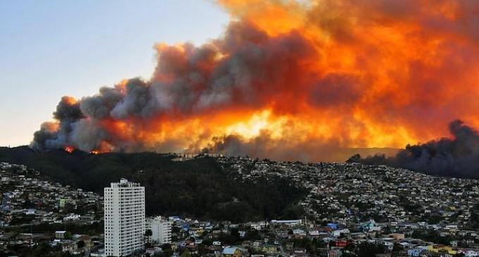 """Chile: """"Extinguir completamente el fuego podría tomar 20 días"""""""